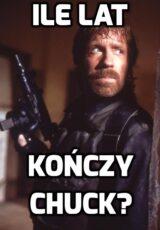 Ile lat kończy w tym roku Chuck Norris?