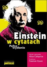 Książka Einstein w cytatach Pełne wydanie