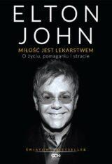 Książka Elton John Miłość jest lekarstwem