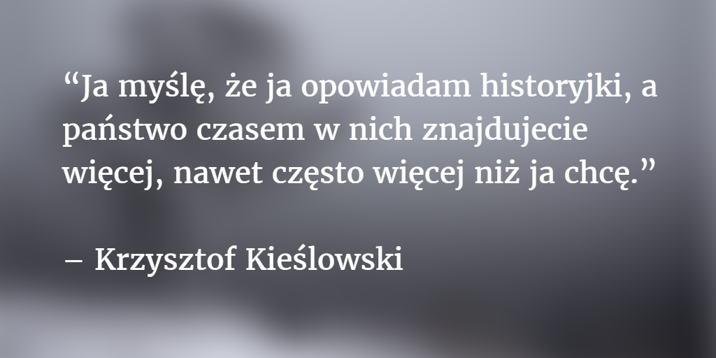 20 lat temu pożegnaliśmy Krzysztofa Kieślowskiego