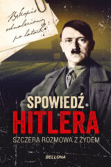 Książka Spowiedź Hitlera. Szczera rozmowa z Żydem