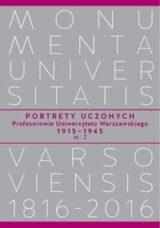 Portrety Uczonych. Profesorowie Uniwersytetu Warszawskiego 1915-1945, M-Ż