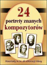 Książka 24 portrety najsłynniejszych kompozytorów
